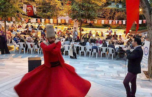 TSD İstanbul, Kasım Alper Özdemir ve Semazen Eşliğinde İftarda Buluştu