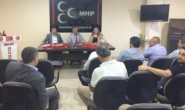 MHP Milletvekilleri Güngören ve Bahçelievler'e Çıkarma Yaptı!