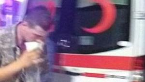Sivas'ta 31 asker hastaneye kaldırıldı!