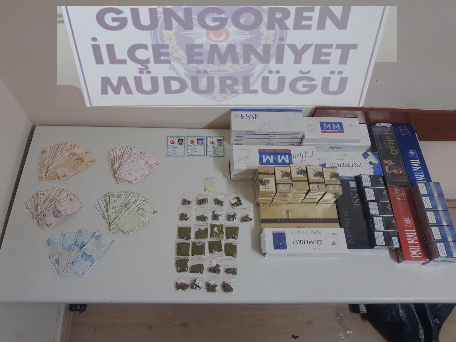 Güngören kaçakçılara ve uyuşturucu satıcılarına geçit vermiyor