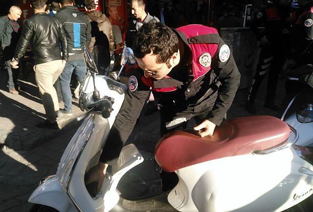Zeytinburnu'nda Motosiklet Operasyonunda Ceza Yağdı!