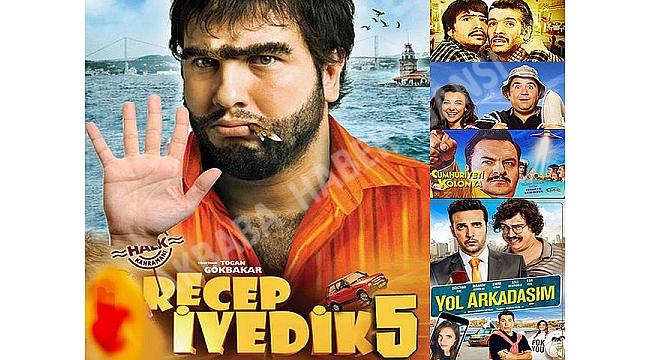 Bu yılın en çok izlenen 10 filminden 6'sı yerli... Sinemada yerli fırtınası!