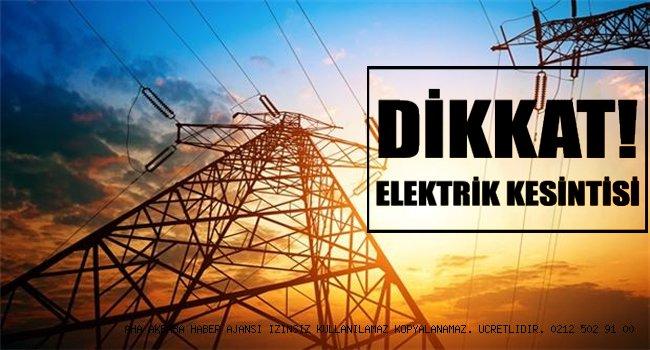 İstanbul Dikkat! Haftasonu Bir Çok İlçede Elektrikler Kesilecek!
