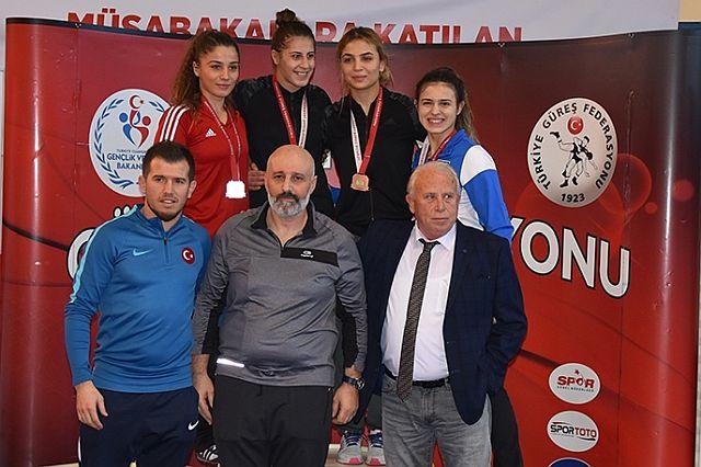 Çorlu Belediye Güreş Takımı Türkiye Dördüncüsü Oldu
