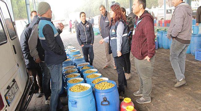 Zeytin ve Zeytinyağı Satışına Yönelik Denetimler Arttırıldı