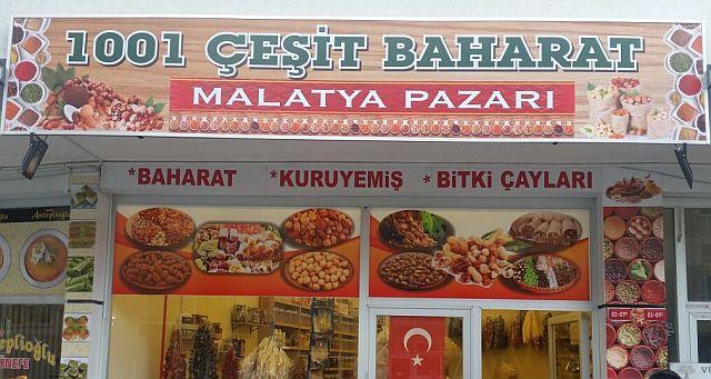 1001 Çeşit Baharat Malatya Pazarı Açıldı