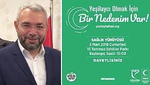 Mehmet Yıldız, Güngörenlileri Sağlık Yürüyüşüne Davet Ediyor