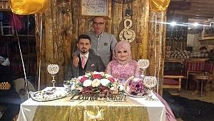 Turan Tutal ile Zeliha Yıldız çifti, Dünya Evine ilk Adımı Attı