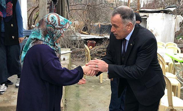 Yaralanan Askerin Ailesine Büyükşehir'den Geçmiş Olsun Ziyareti