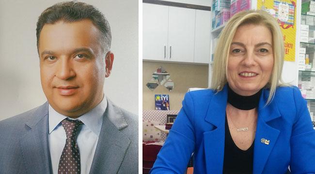Ecz. Selma Sarıcaoğlu ile Ecz. Ufuk Demir, İYİ Parti İl Teşkilatında Yönetici Oldu