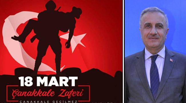Milletvekili Abdullah Başcı'dan, 18 Mart Çanakkale Savaşı Zaferi Mesajı