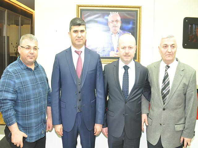 Kanal T kaymakam Zeyit Şener'i ağırladı