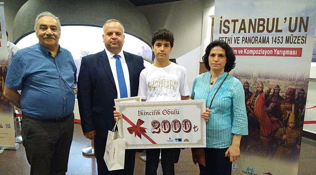 Bülent Ecevit Ortaokulu İstanbul İkincisi Oldu