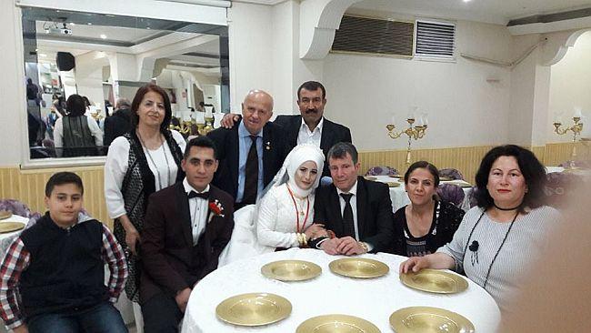 Gözder Başkanı Ali Varlık Kızını Evlendirdi