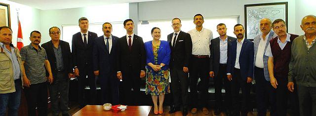 Mhp Tekirdağ Adayları Çorlu'da Tanıtıldı