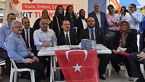 Güngören'in değeri Mehmet Muş,  kendi evinde gönüllere hitap etti