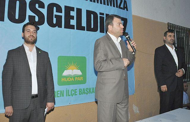 HÜDAPAR Mehmet Yavuz Emparyalist güçlerin oyunlarını bozacaklarını haykırdı