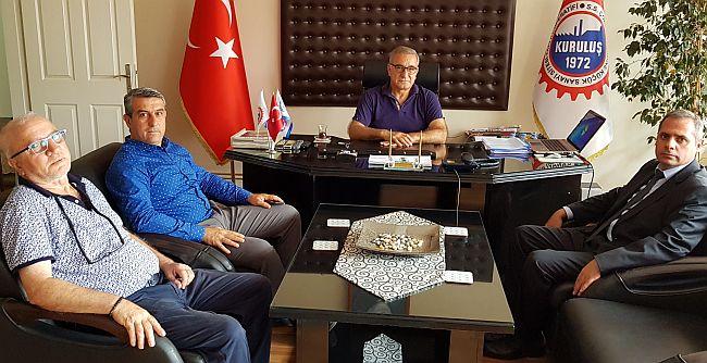 Çorlu SGK'dan Yeni Sanayi Sitesi Yönetimine Ziyaret