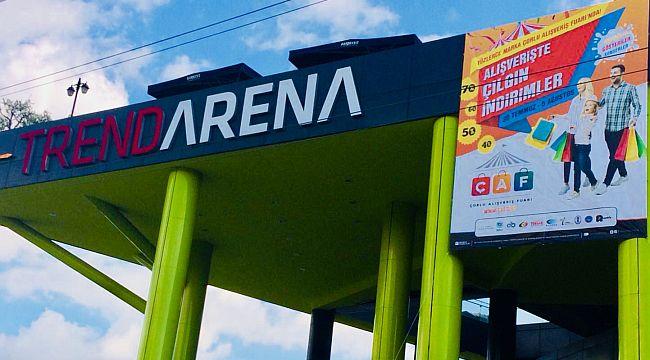 Trend Arena ÇAF'a Hazırlanıyor