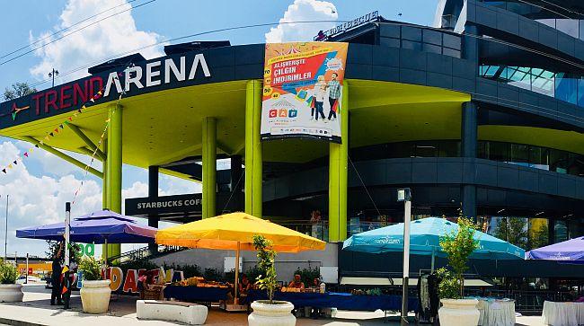 Trend Arena'da Çaf Başladı