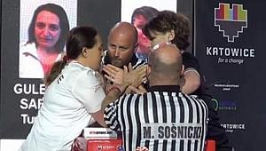Gülendem Sarıbal Türkiye ve Avrupa şampiyonluğunu Güngören'e getirdi
