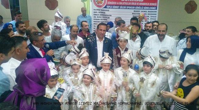 Güngören Malatyalılar derneği 3. geleneksel sünnet şöleni düzenliyor