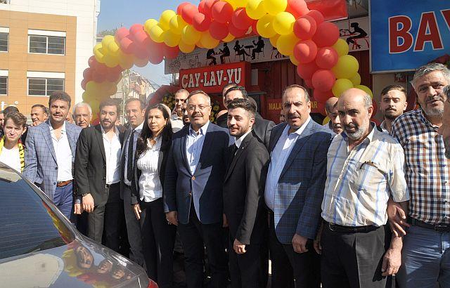 Malatyaspor Gençlik 44 taraftarlar derneği muhteşem törenle açıldı