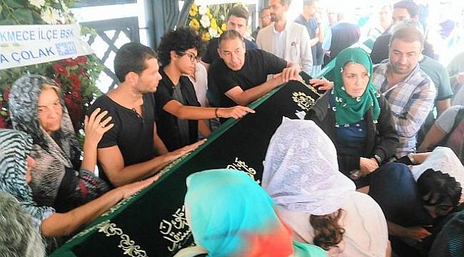 Tarkan Şahin'in son yolculuğunda gözyaşları sel oldu