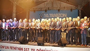 Trabzon'un fethinin 557 yıl dönümü Yenikapı ruhuyla bir kez daha yaşandı