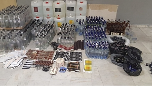 İstanbul'da Sahte Alkol İmalathanelerine Operasyon