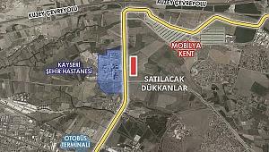 Kayseri'de 29 iş yeri satışa çıkıyor