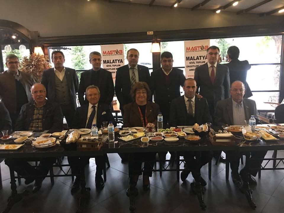 Malatya'nın değerleri Ankara'da Yeni Malatyaspor'a sahip çıkıyor