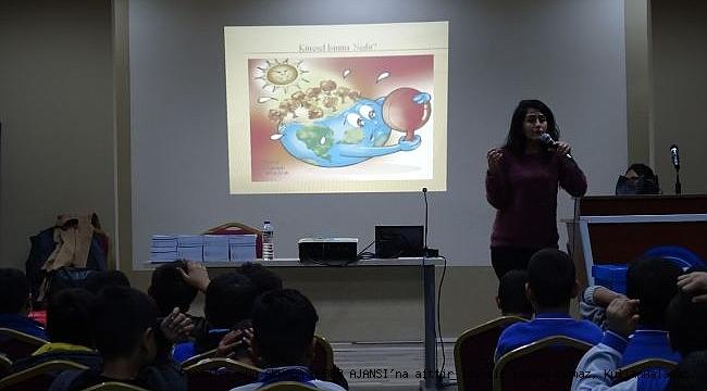 Çocuklar Çevre Bilincini Öğreniyor