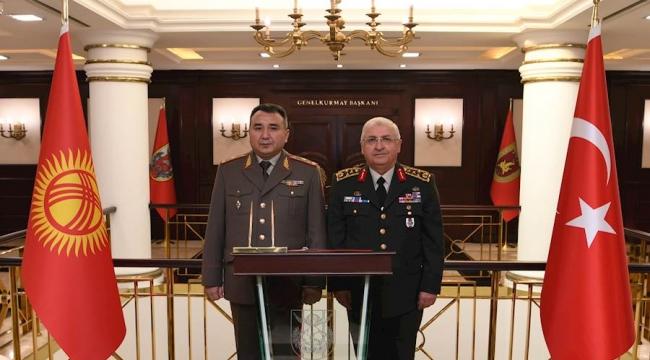 Kırgızistan'dan Orgeneral Yaşar GÜLER'e Ziyaret