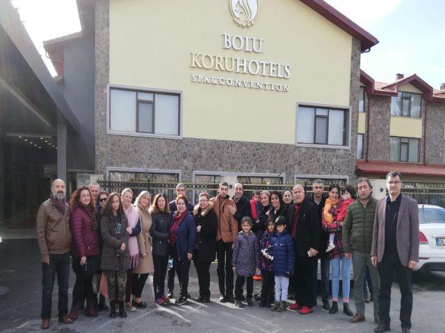 Bolu Koru Otel Mastöb Ankara şubesini aileleriyle ağırladı