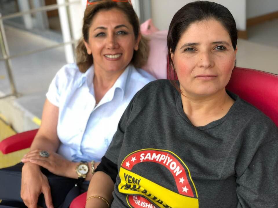 Mastöb kadın kolları Evkur Yeni Malatyaspor