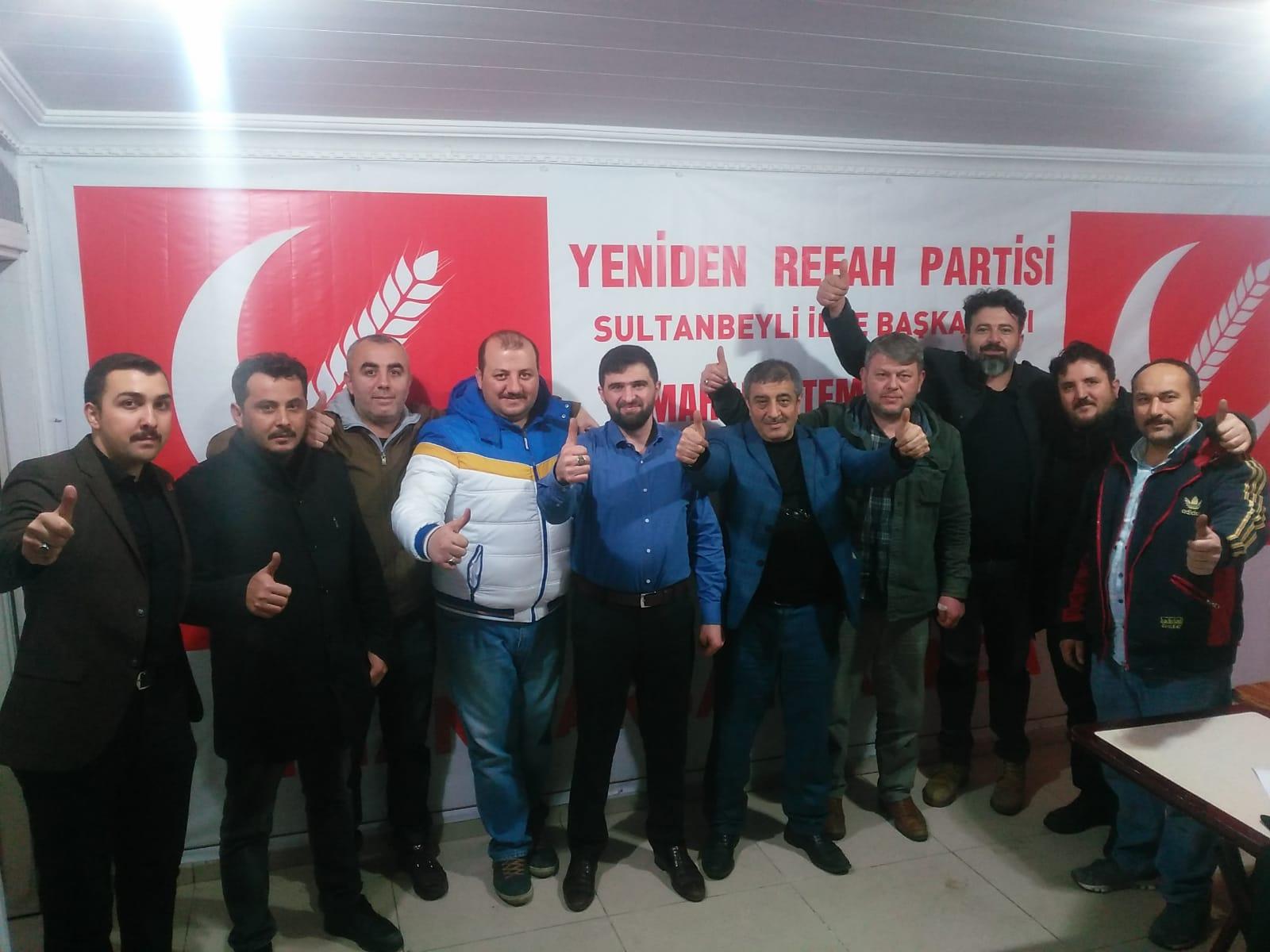 Erbakan'ın dava arkadaşları Sultanbeyli'de tarih yazıyor