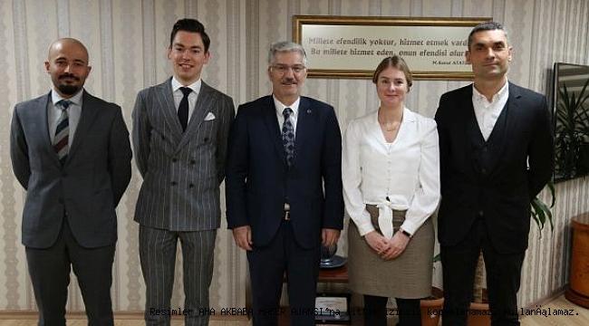 İngiliz heyet başkanvekili Özak'a konuk oldu