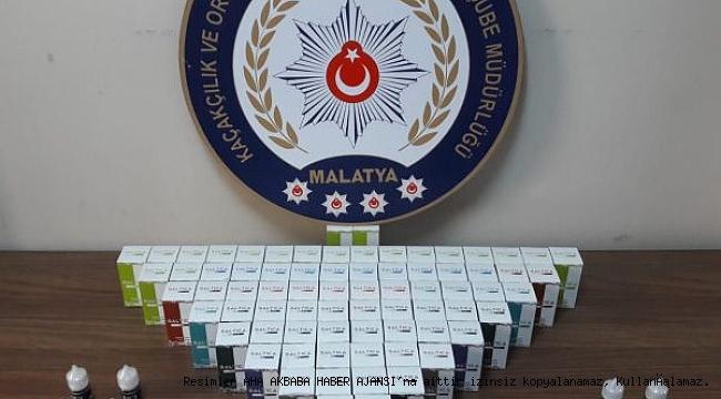 Malatya'da Kaçakçılık Operasyonu