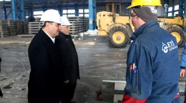 Alüminyum fabrikasında toplu sözleşme