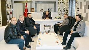 EYUDER'den, Başkan Kutlu'ya Ziyaret