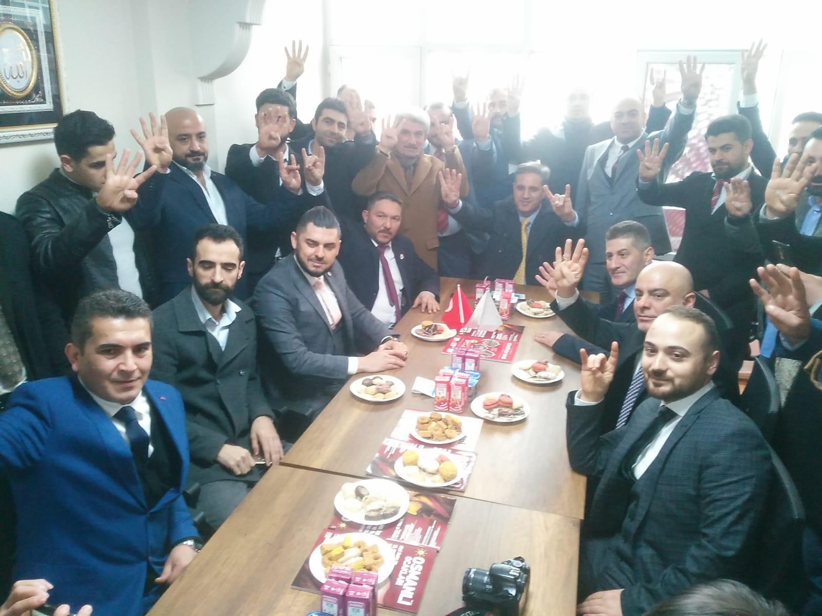 Güngören Osmanlı ocakları yemin töreni ile açıldı