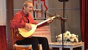 Güngören Sivaslılar Cengiz Özkan konserinde gönüllere sığmadı