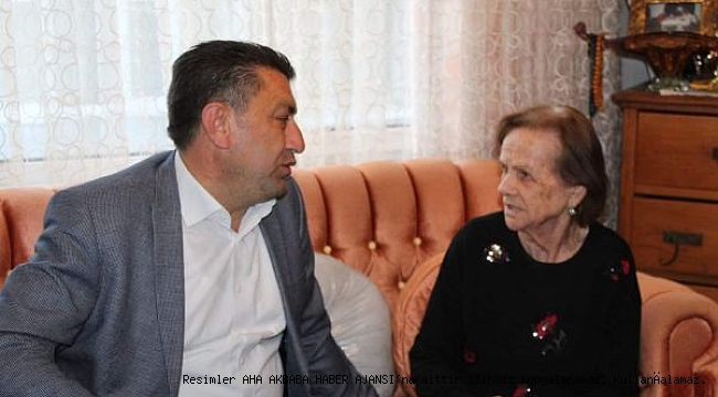 Başkan Adayı Erçili'den Büyük Vefa Örneği