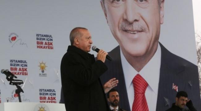 Cumhurbaşkanı Erdoğan Küçükçekmece'de