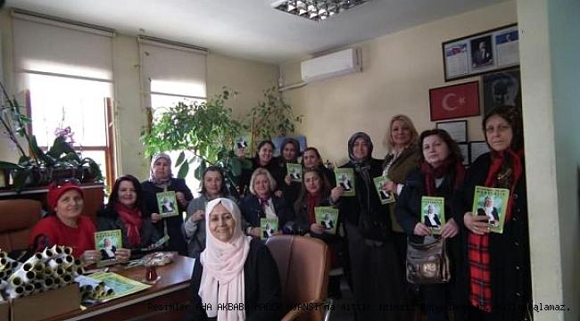 Kadın Muhtar Polat'ın Dünya Kadınlar Günü Ziyaretine Büyük İlgi