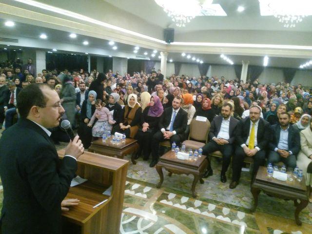 Mehmet Muş ; Her verdiğin oy Recep Tayyip Erdoğan'a güç olacaktır