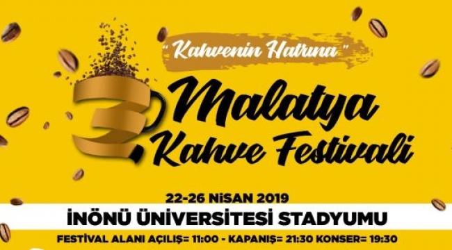 3. Malatya Kahve Festivali Başlıyor
