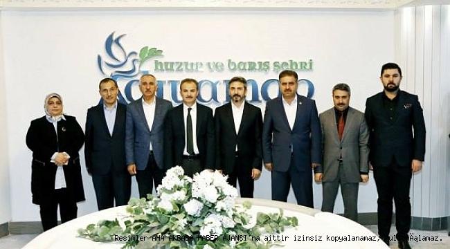 AK Parti Teşkilatından, Başkan Kılınç'a 'Hayırlı Olsun' Ziyareti