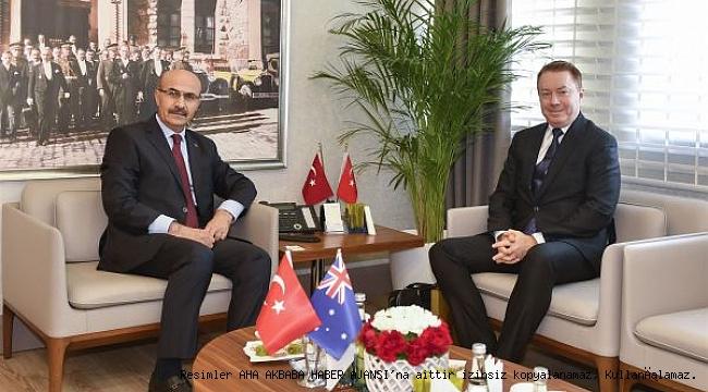 Avustralya Ankara Büyükelçisi'nden Mahmut Demirtaş'a Ziyaret